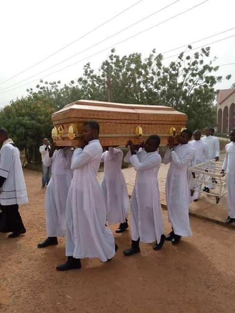 18-year-old Seminarian killed by kidnappers, buried amid tears in Kaduna (photos)