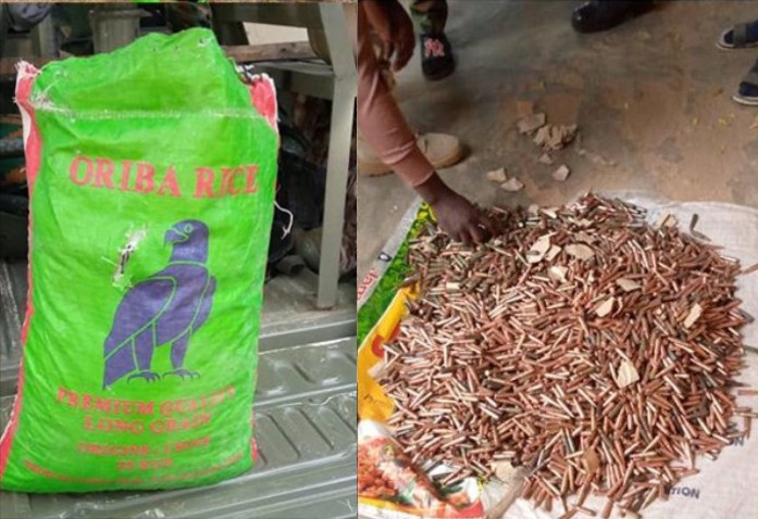 Troops intercept motorcyclist with 4,653 rounds of bullets disguised as a bag of rice in Zamfara