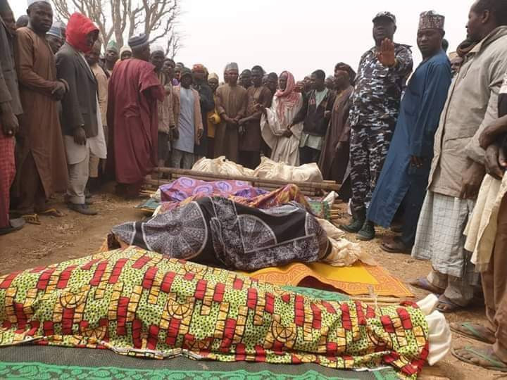 Replace: How bandits killed 11 members of a family in Kaduna community (pictures)