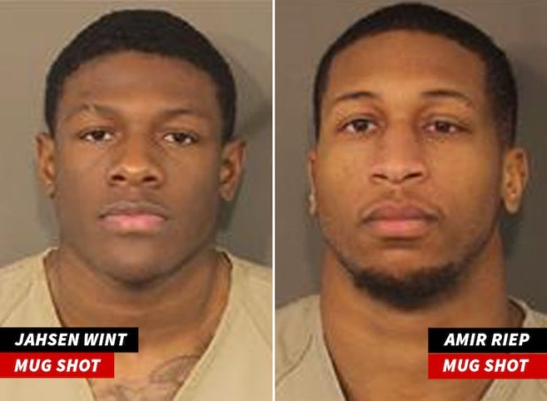 Two football players charged with rape and kidnapping