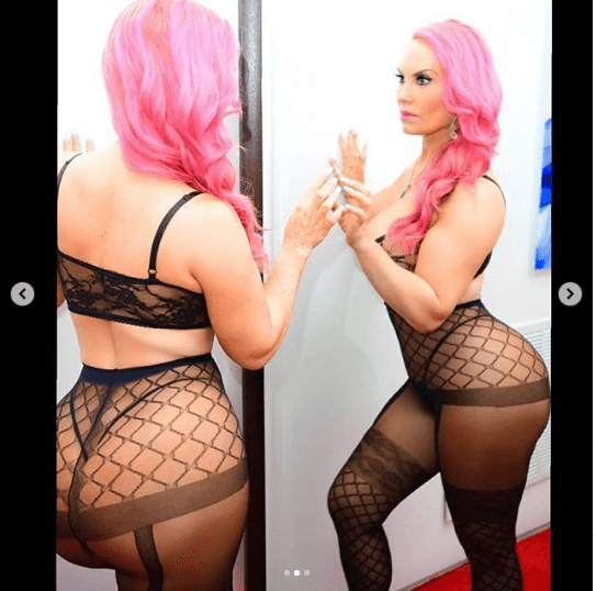 Reality star Coco Austin shares racy lingerie photos to celebrates Valentine