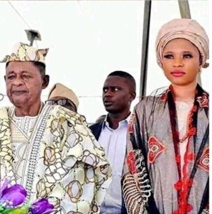 Alaafin of Oyo, 81, welcomes a son with his youngest wife, Damilola