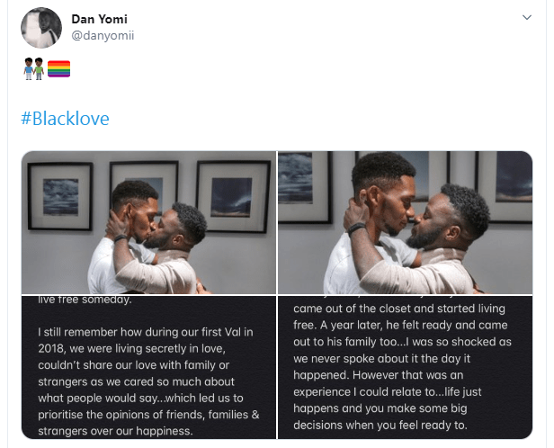 We almost gave in to pressure of marrying women - Nigerian gay men pen down emotional post