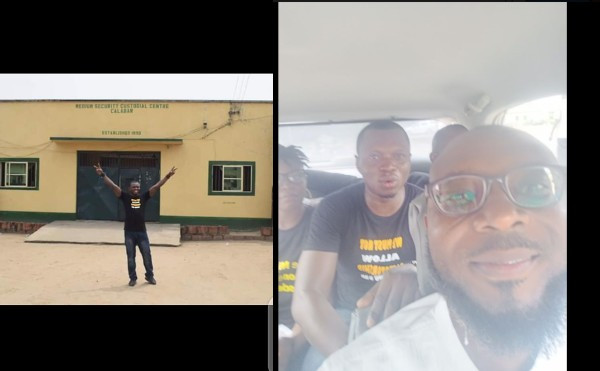 Agba Jalingo regains freedom after 6 months in prison (photographs)