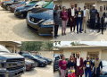 E-Money gives out cars to his staff on his birthday (pictures)