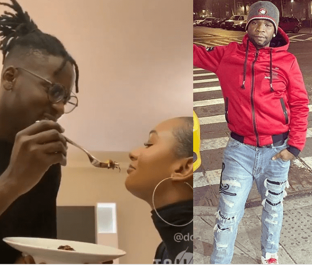 "Speed Darlington demands to know the""voodoo priest"" that made ""irrelevant"" Mr Eazi get a billionaire girlfriend like Temi Otedola"