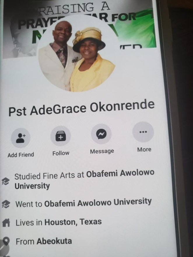 Exclusive: Widow accuses RCCG pastors of scamming her and her husband and allegedly selling off their properties after her husband died
