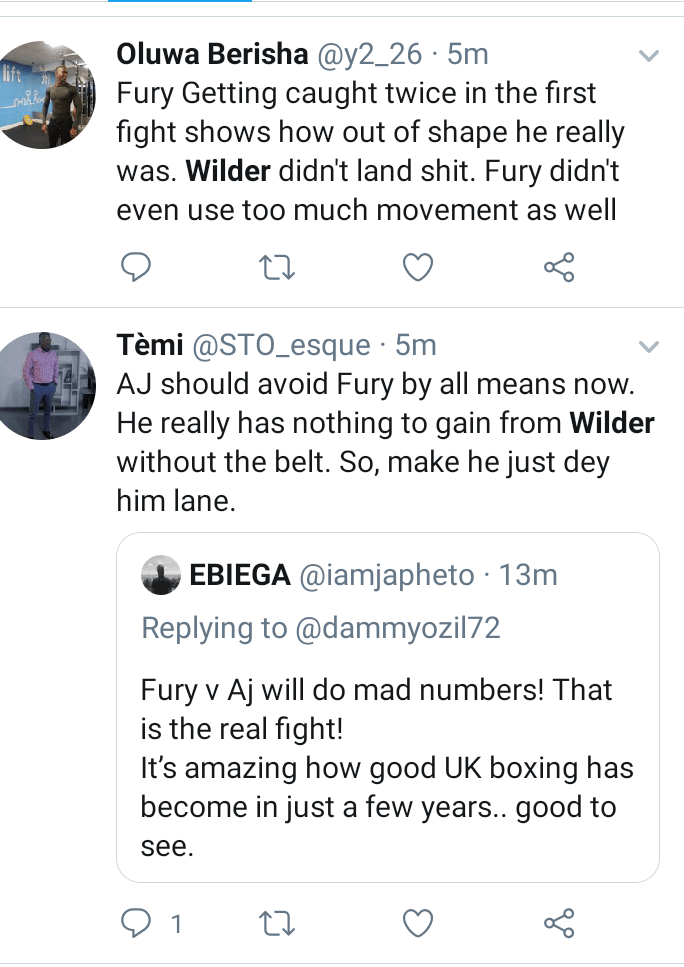 Anthony Joshua should avoid Tyson Fury by all means now