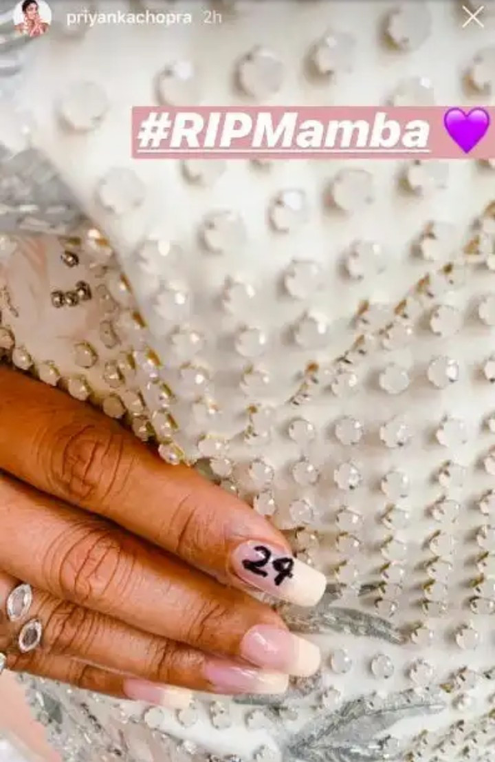 Beyonce and Jennifer Lopez honor Kobe and Gigi Bryant with their nail art (photos)