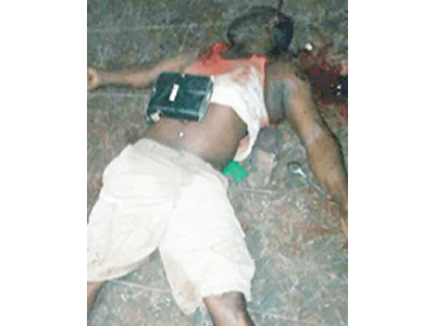 Man killed, daughter raped by gunmen in Delta (graphic photo)