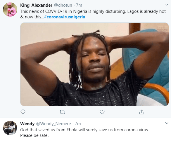 God you saw us through Ebola, please do it again - Nigerians react to news of first confirmed case of Coronavirus in Nigeria