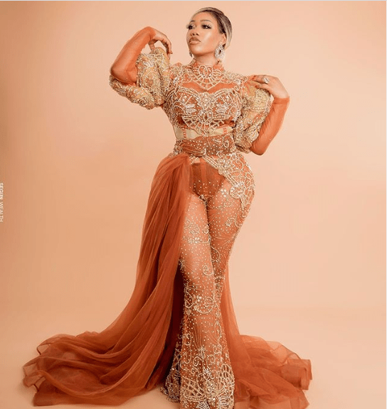 Toyin Lawani celebrates her 38th birthday and 20-years of craftsmanship with eye-popping photos