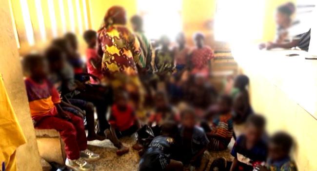 Suspected trafficker nabbed with 23 children in Taraba