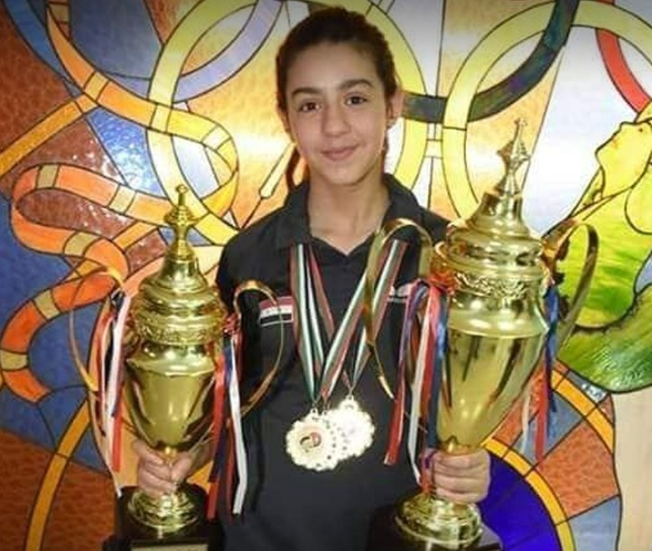 11-year-old Syrian table tennis player Hend Zaza qualifies for Olympics
