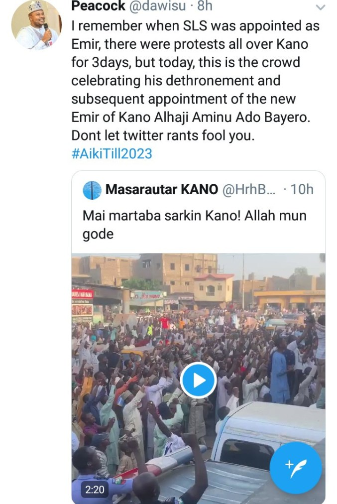 """""""He will be under house arrest in a remote location"""" Governor Ganduje"""