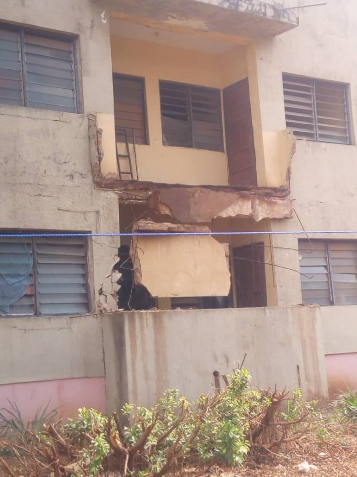 IMT students in critical state as female hostel balcony collapses
