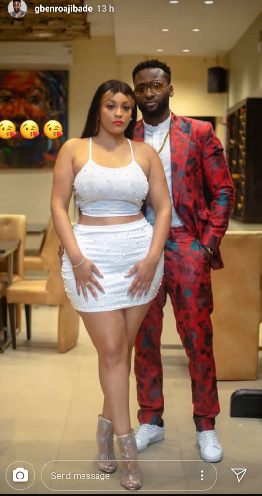 """Actor Gbenro Ajibade shows off his """"new girlfriend""""  (photos/video)"""