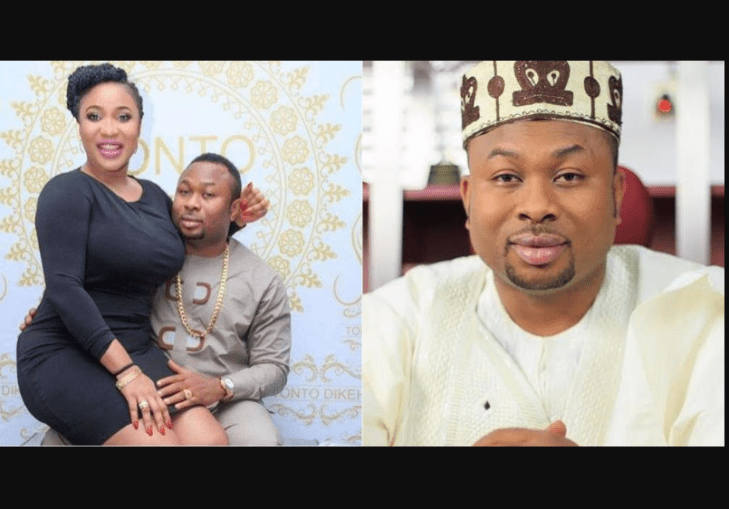 Olakunle Churchill shades Tonto Dikeh on Instagram for calling him a