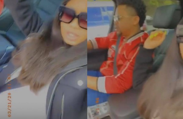 BBNaija's Nina debuts baby bump, shows off her husband for the first time (video)