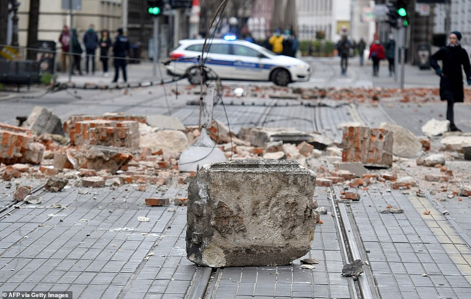 15-year-old boy killed, dozens of people are injured after 5.3 magnitude earthquake hits Croatia (Photos)