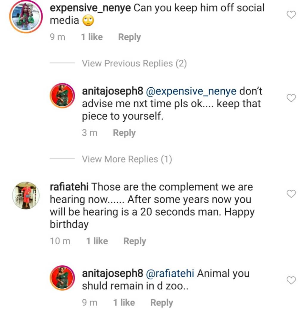 May amadioha enter your love story - Anita Joseph slams trolls telling her to keep her man off social media