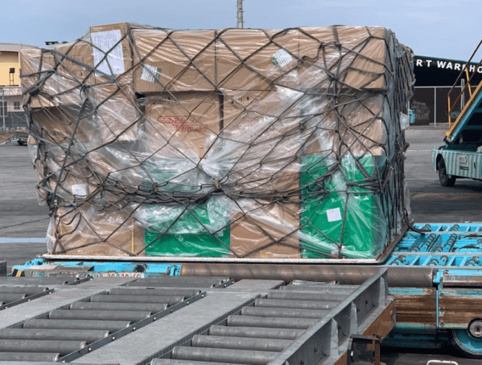 Coronavirus: Medical Supplies donated by Chinese Billionaire, Jack Ma, arrives Nigeria (photos)