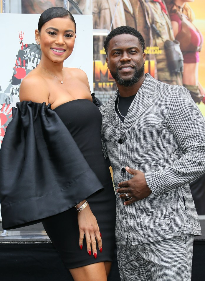 Eniko Parrish and Kevin Hart expecting their second child together