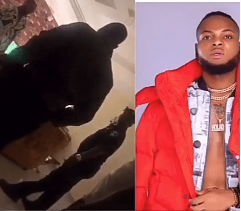 Nigerian man, Cent Remmy is arrested at his home after he caused panic by allegedly faking Coronavirus symptoms at the airport two weeks ago