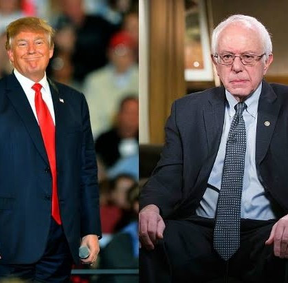 Donald Trump trolls Democrats as Bernie Sanders drops out of presidential race