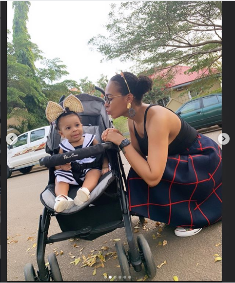 TBoss shares beautiful photos with her baby daughter?
