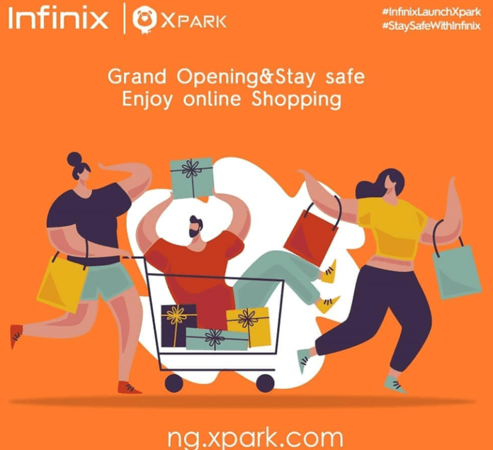 New Infinix Xpark guarantees super-fast and safe delivery