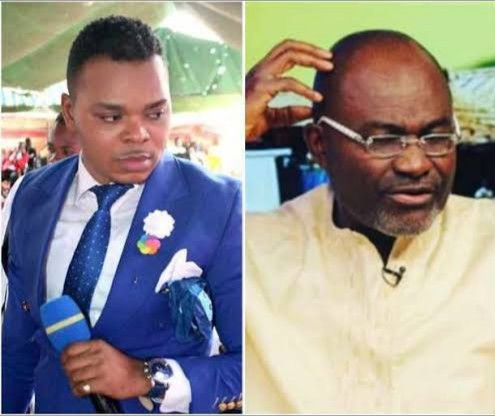 Ghanian MInister accuses Bishop Obinim of sleeping with his junior pastor's spouse; the Reverend responds