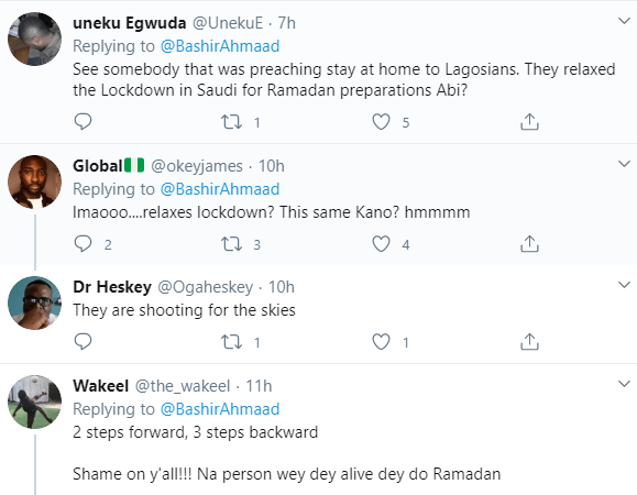 Nigerians react as Kano state government relaxes lockdown to enable residents shop for Ramadan despite increase in COVID-19 cases