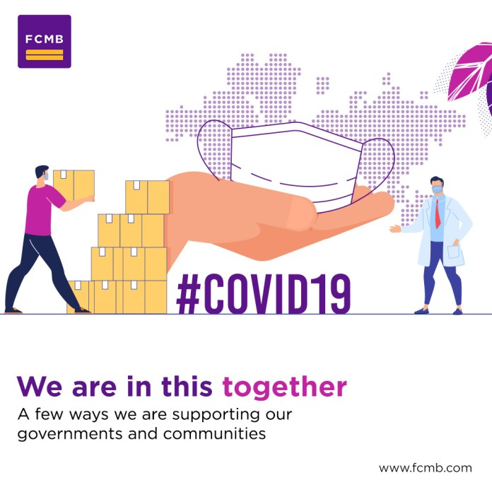 Covid-19 Fcmb Sustains Support To Government And Nigerians With Multi-Dimensional Intervention Strategy