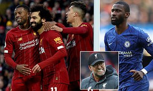 If we continue to play and ignore people dying it wouldn't sit right on my conscience, Give Liverpool the title - Chelsea defender, Antonio Rudiger says