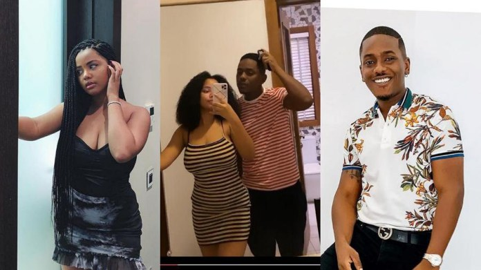 32 year old actor Timini Egbuson's 19-year-old girlfriend, Lydia, shares  loved up video days after their relationship became a trending topic on  social media