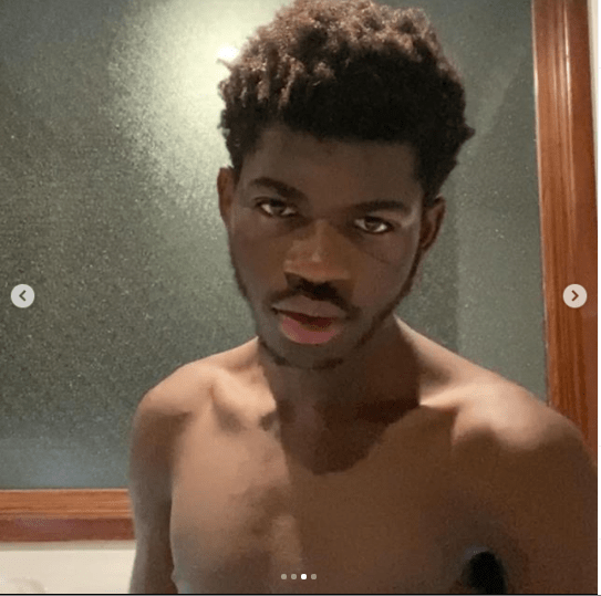 Rapper, Lil Nas X poses completely nude in new photos