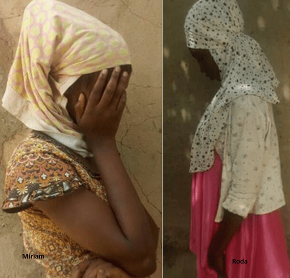 Girls who survived Nigeria