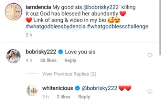 """""""Who are you to speak for God?"""" Dencia clashes with Instagram users who called out Bobrisky"""