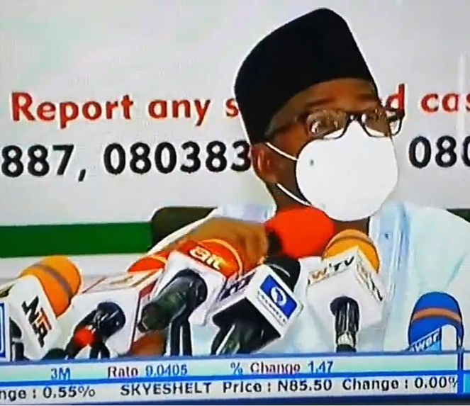 I have no apologies for saying I used Chloroquine and ZIthromax to treat myself when I had Coronavirus- Bauchi state governor,  Bala Mohammed