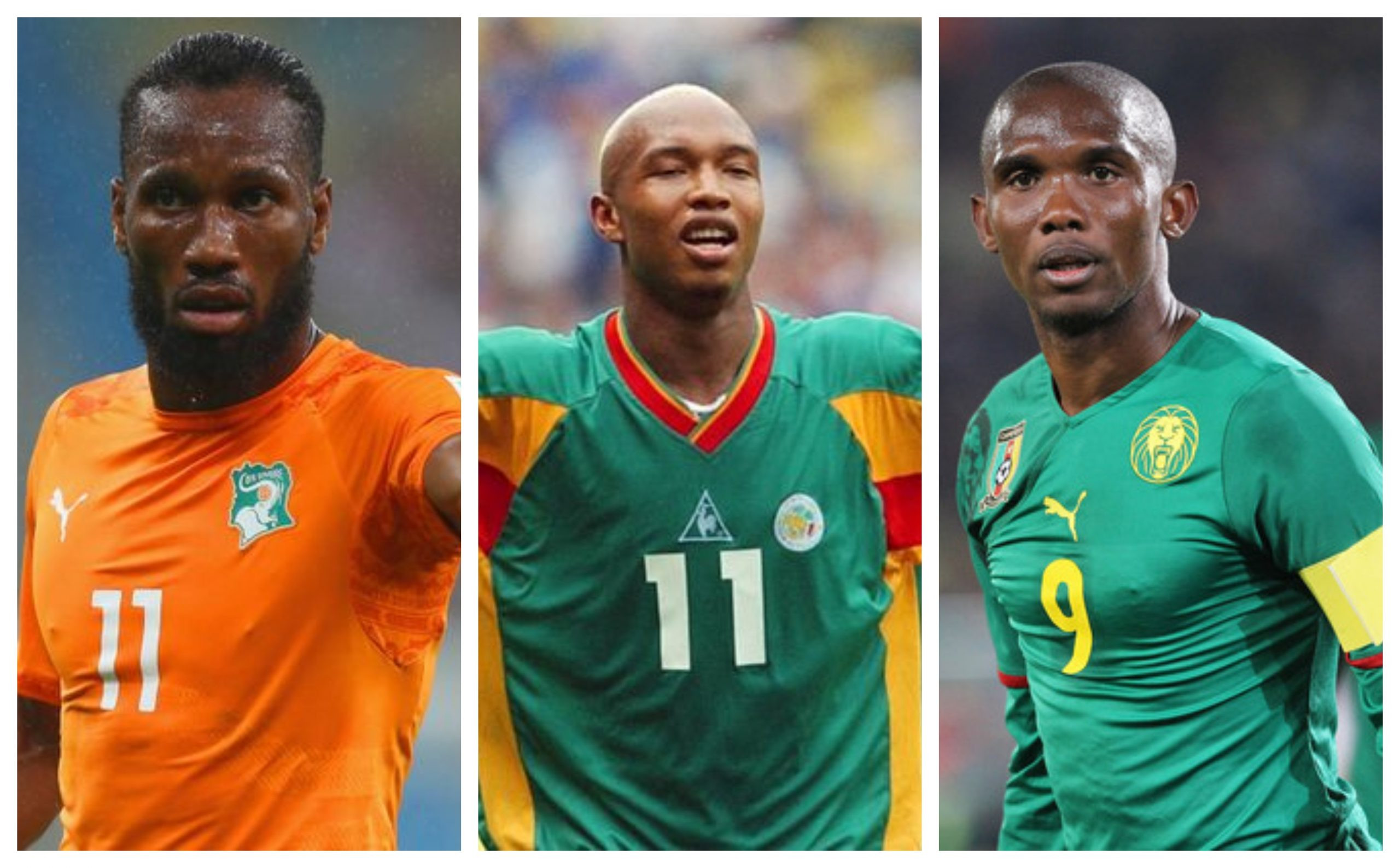 None of them can say that they were at my level or better' - Samuel Eto'o dismisses El-Hadji Diouf and Didier Drogba claims to be the greatest African player ever