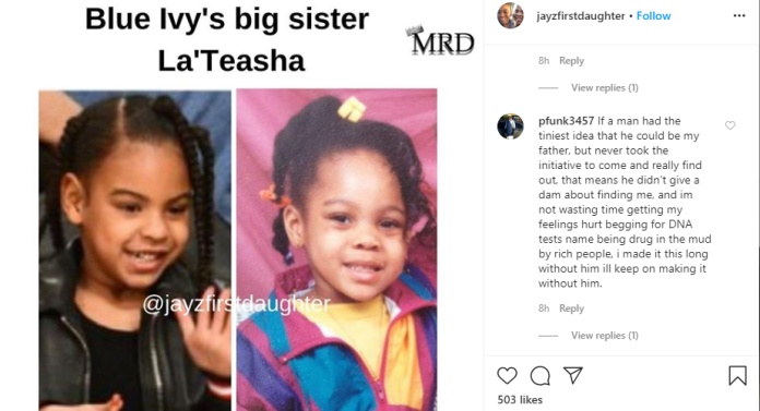 29 year old alleges she?s Jay-Z?s secret daughter and shows