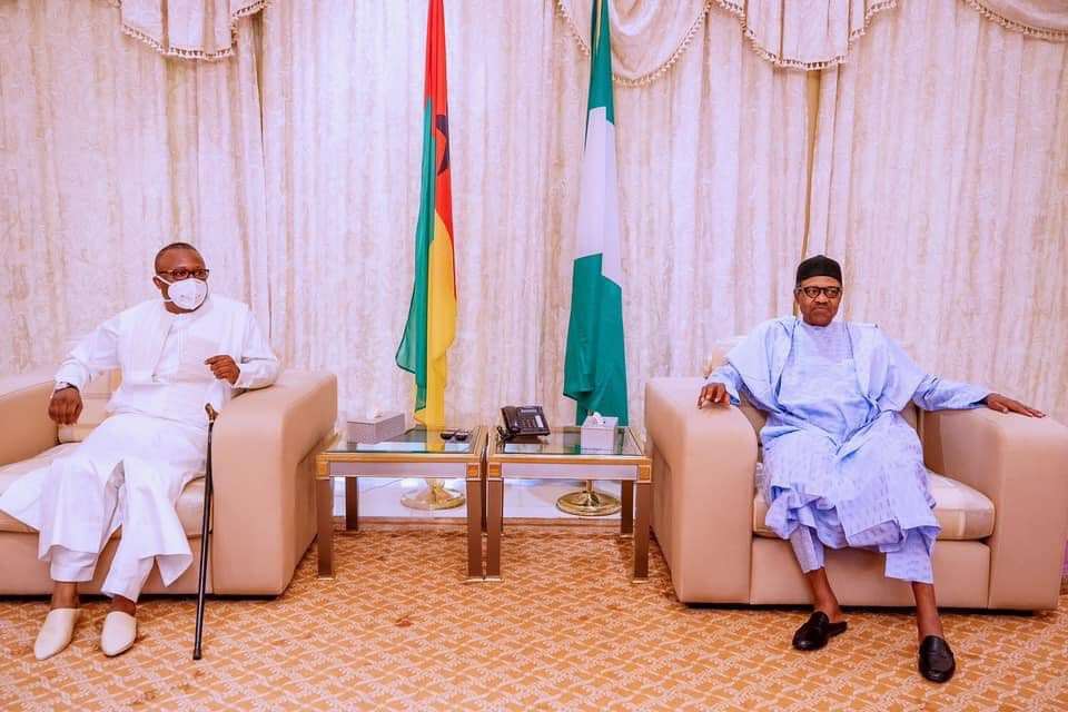 President Buhari receives Madagascar's COVID-19 herbal drug