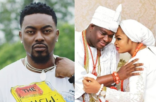 Kings and Queens should stay off social media - BBA star, Tayo Faniran reacts to Ooni of Ife's wife's statement on her alleged marriage crash