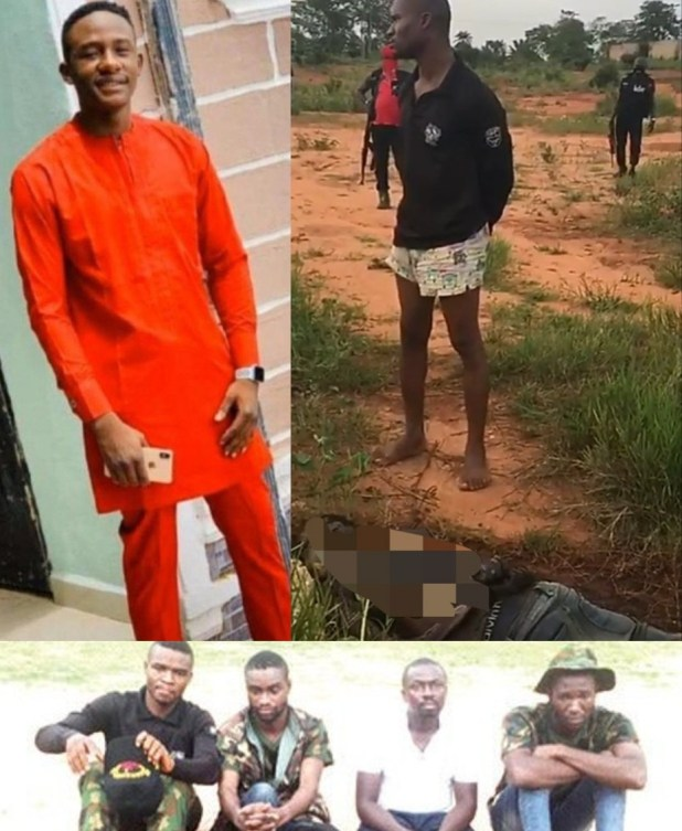 #JusticeForLeo: Soldier, deserters who kidnapped an undergraduate from Imo and killed him in Anambra have been nabbed