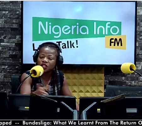 OAP Joyce Onyemuwa goes off on a caller who advised on air that women in abusive marriages should emulate Jesus and endure it (video)