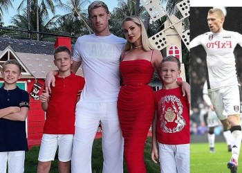Ex-Fulham striker Pavel Pogrebnyak hospitalised with pneumonia after contracting coronavirus; his wife and three sons are also down with disease
