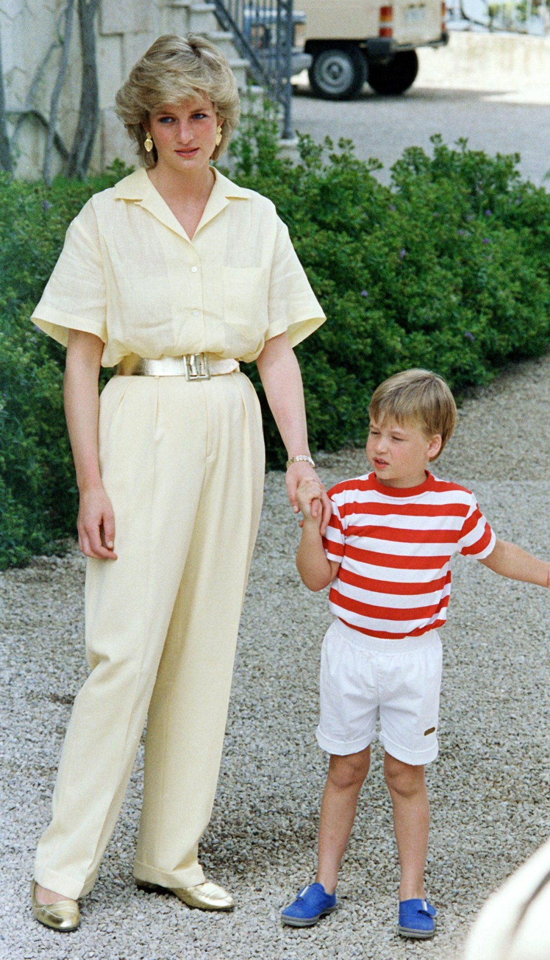 Prince William says his grief over his mum, Princess Diana