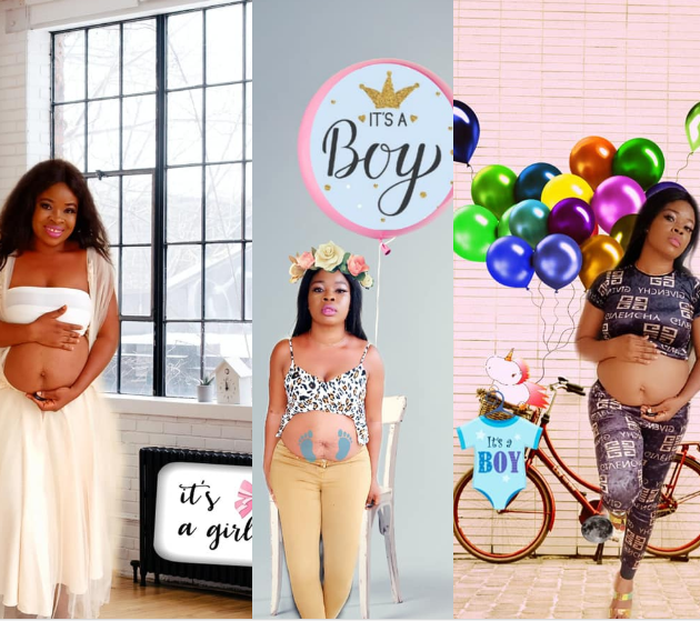 Mum-of-three snaps pregnancy photos with her bloated tummy to make up for not taking them while pregnant with all three kids