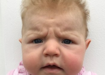 Lol.This 3 month old baby's grumpy passport photos sum up 2020 so far
